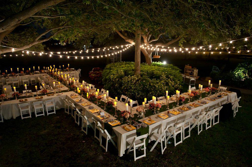 A Mid Summer Night S Dream Wedding At Davis Islands Garden